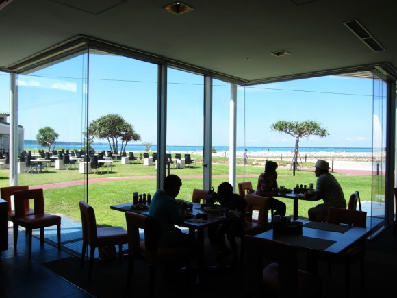 サンマリーナホテルのレストラン
