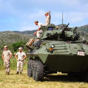 ジャングルフェスト軍事車両