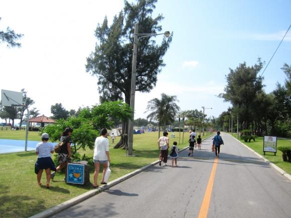 沖縄米軍保養地オクマビーチ