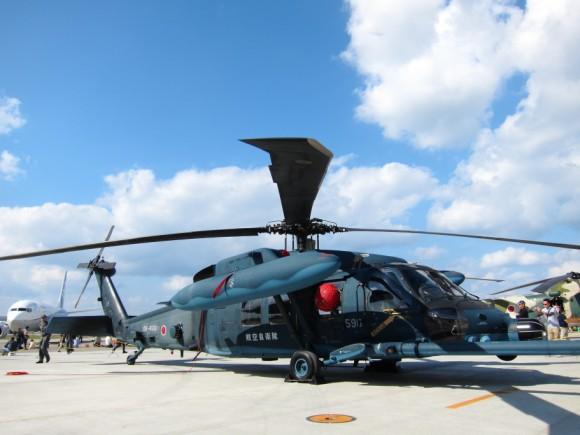 UH-60Jヘリ