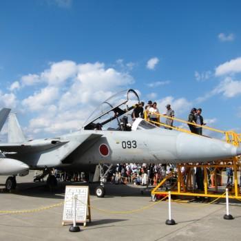 F-15のコクピット搭乗体験