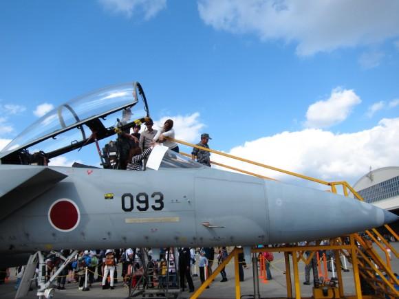 F-15コクピット搭乗体験