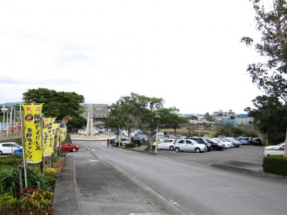 阪神タイガース沖縄キャンプ駐車場